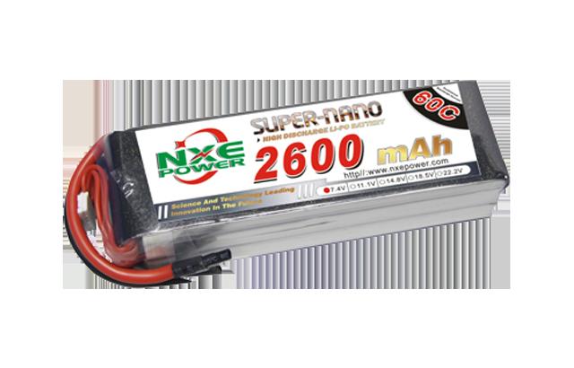 诺信2600mAh 60C航模电池