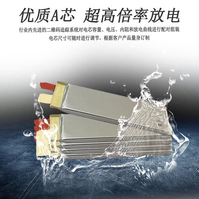优质A级聚合物锂电芯