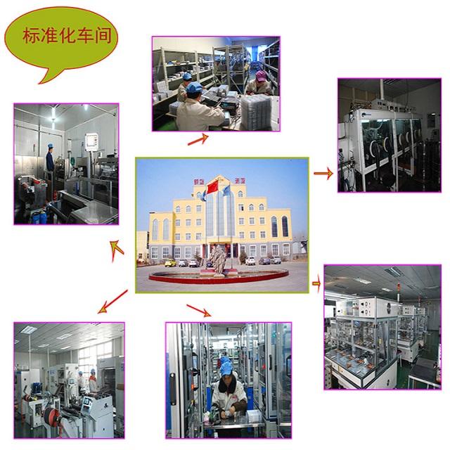 标准化锂离子电池生产车间