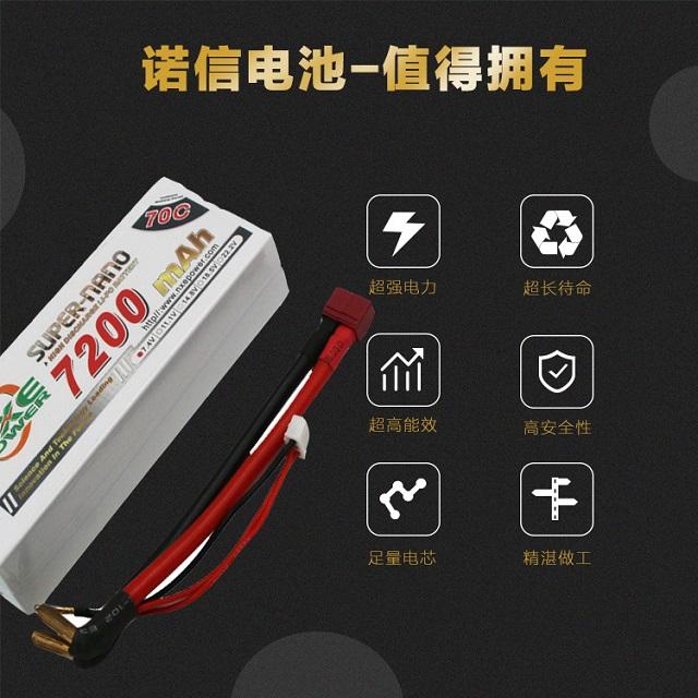 诺信车模电池优势